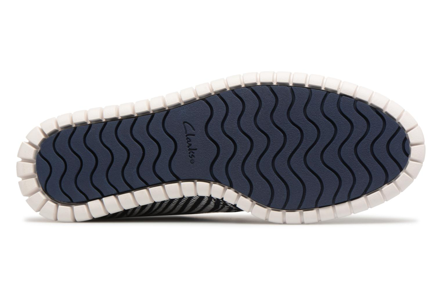 Lace-up shoes Clarks MZT Liberty Blue view from above