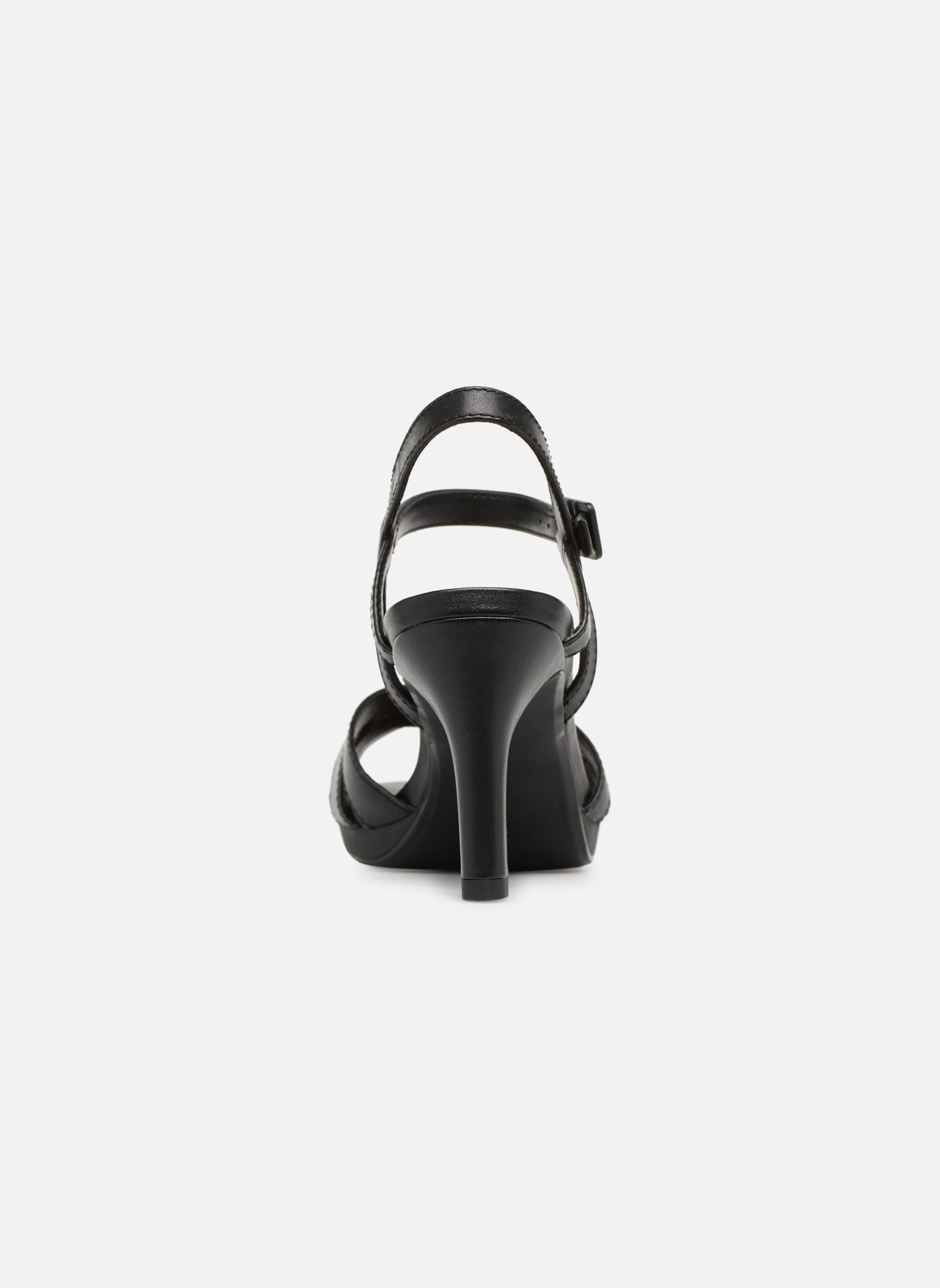 Sandals Clarks Adriel wavy Black view from the right