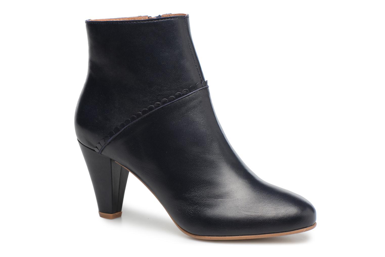 Bottines et boots Georgia Rose Halicroc Bleu vue détail/paire
