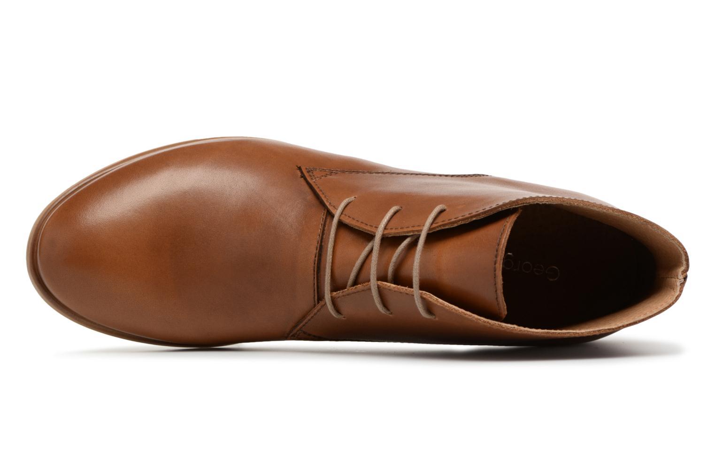 Chaussures à lacets Georgia Rose Anilace Marron vue gauche