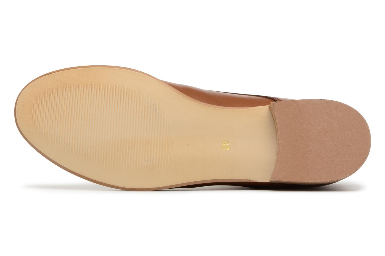 Chaussures à lacets Georgia Rose Anilace Marron vue haut