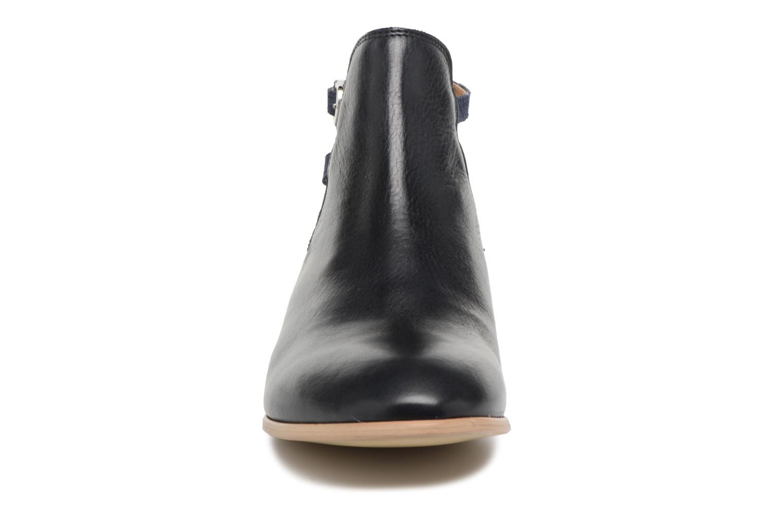 Bottines et boots Georgia Rose Anistripe Bleu vue portées chaussures