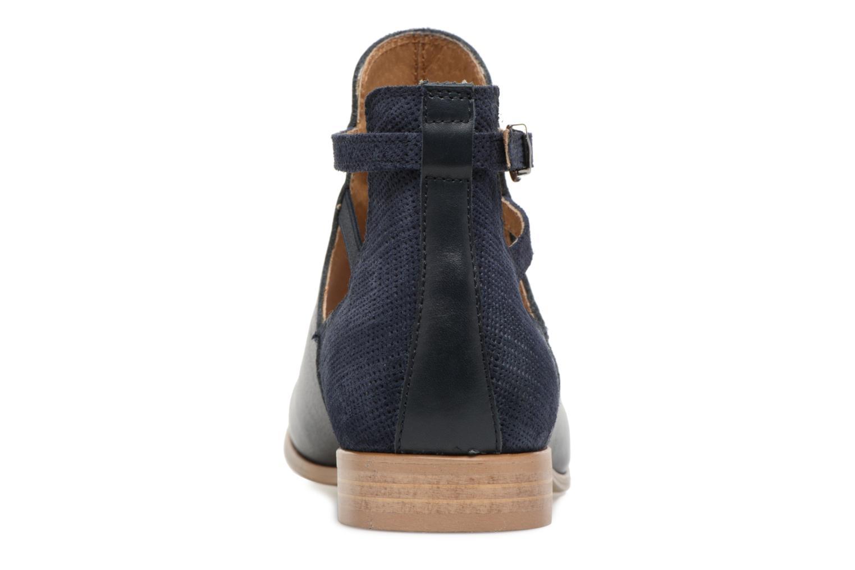Bottines et boots Georgia Rose Anistripe Bleu vue droite
