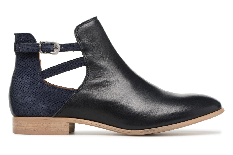 Bottines et boots Georgia Rose Anistripe Bleu vue derrière