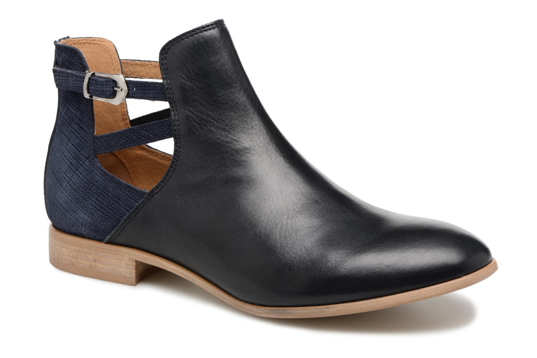 Bottines et boots Georgia Rose Anistripe Bleu vue détail/paire