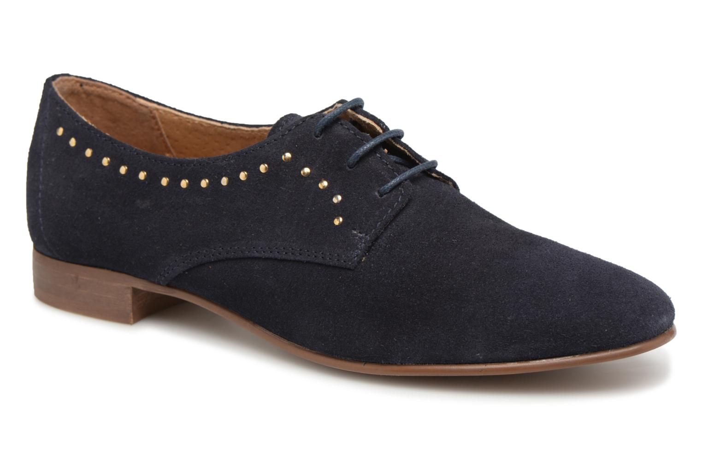 Chaussures à lacets Georgia Rose Aliclous Bleu vue détail/paire
