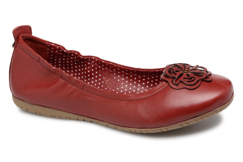 Grandes descuentos últimos zapatos Kickers Rommy (Rojo) - Bailarinas Descuento