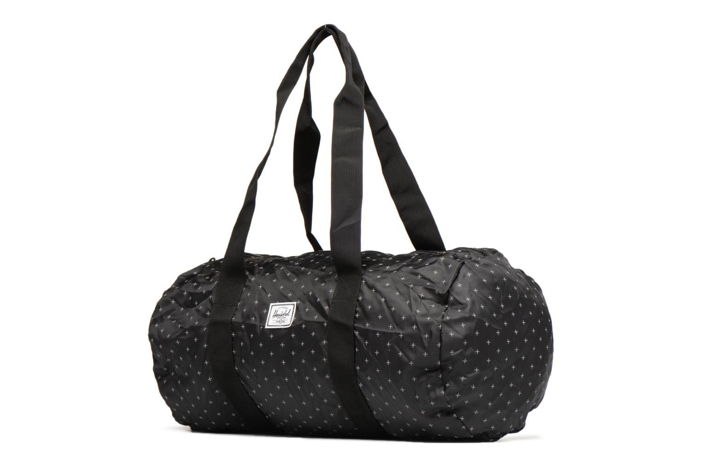 Sporttaschen Herschel Packable Duffle schwarz schuhe getragen