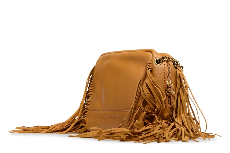 Handtaschen Nat & Nin GIULIA gelb schuhe getragen
