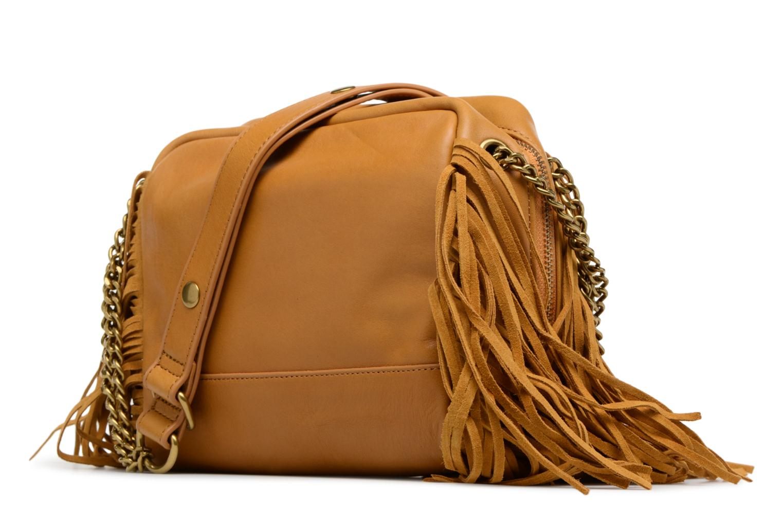 Handtaschen Nat & Nin GIULIA gelb ansicht von rechts