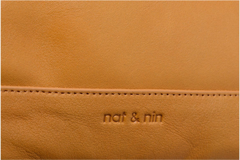Handtaschen Nat & Nin GIULIA gelb ansicht von links