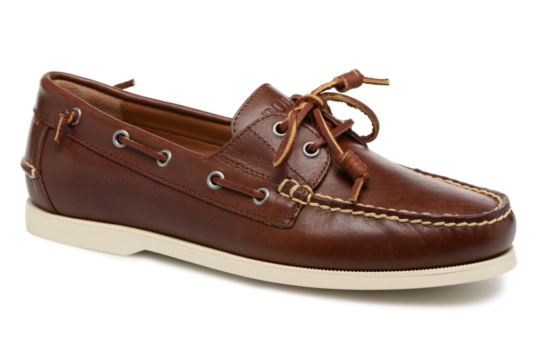 Polo Ralph Lauren Merton (Marron) - Chaussures à lacets chez Sarenza (320475)