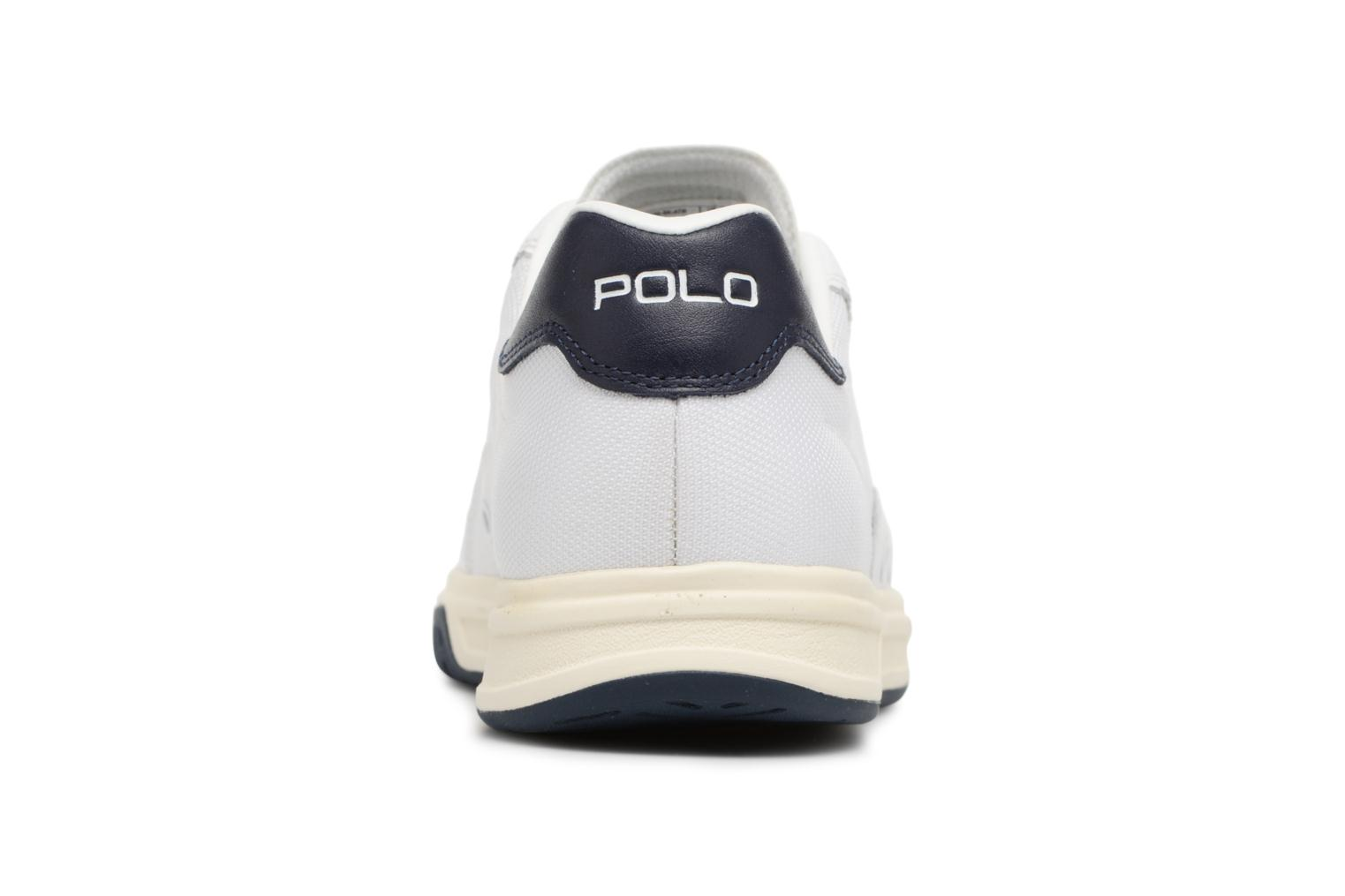 Trainers Polo Ralph Lauren Court100 White view from the right