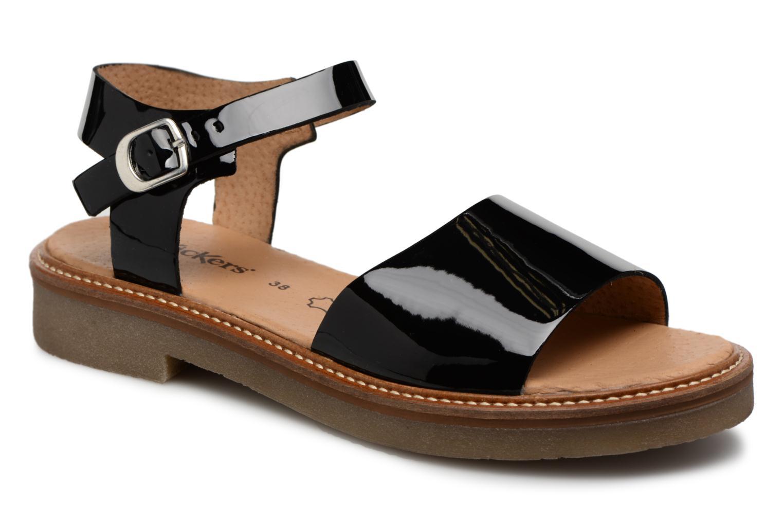 Zapatos promocionales Kickers Europea (Negro) - Sandalias   Gran descuento