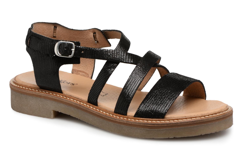 Zapatos promocionales Kickers Euridice (Negro) - Sandalias   Descuento de la marca