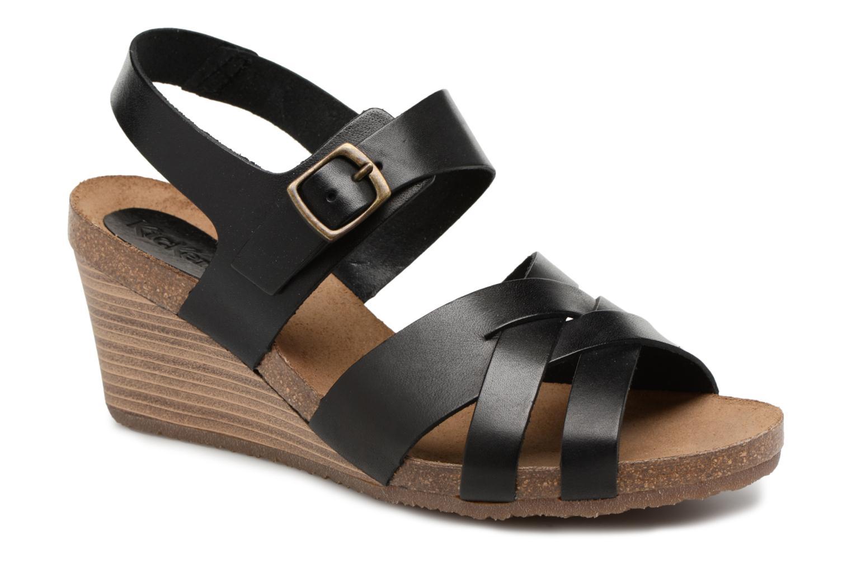 Kickers SPICY Noir - Livraison Gratuite avec  - Chaussures Sandale Femme