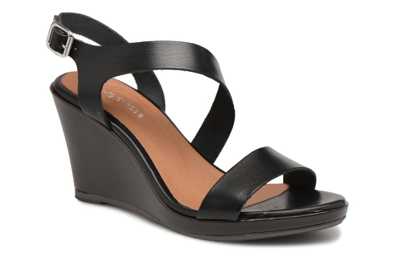Sandales et nu-pieds Georgia Rose Esbloca Noir vue détail/paire