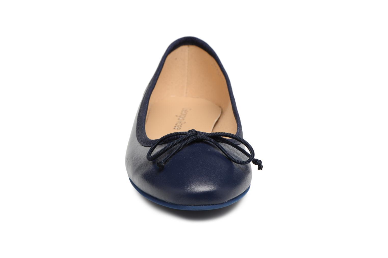 Ballerines Georgia Rose Sanoeud Bleu vue portées chaussures