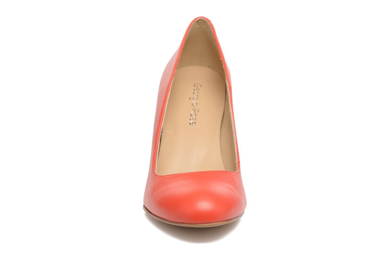 Escarpins Georgia Rose Selinon Orange vue portées chaussures