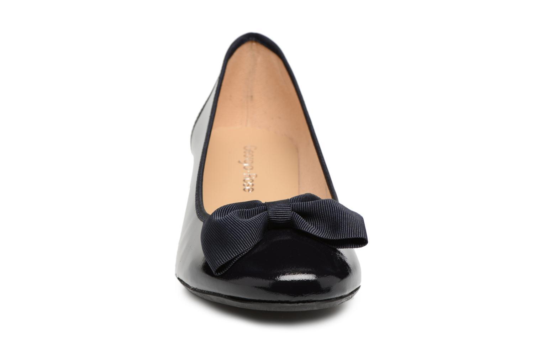 Ballerines Georgia Rose Sanova Bleu vue portées chaussures