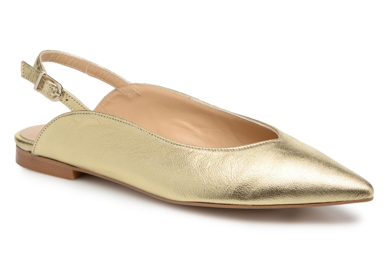 Zapatos promocionales Georgia Rose Sodora (Oro y bronce) - Bailarinas   Zapatos de mujer baratos zapatos de mujer