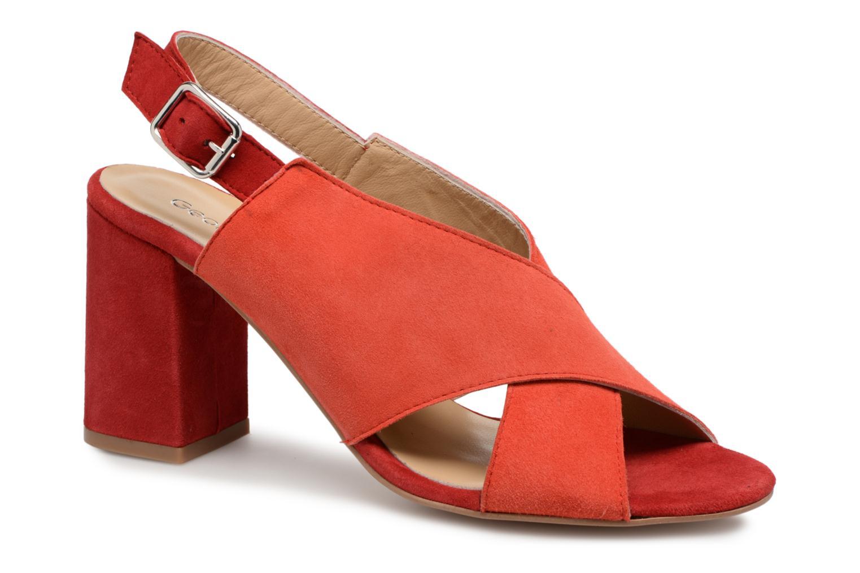 Zapatos promocionales Georgia Rose Sofiane (Rojo) - Sandalias   Descuento de la marca