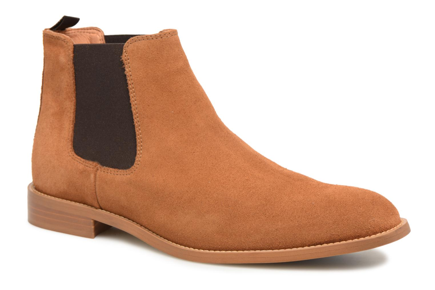 Ankle boots Mr SARENZA Rilmot Brown view from the right