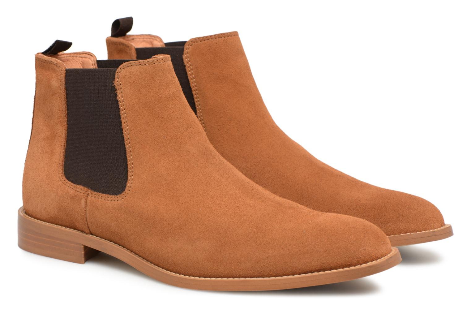 Ankle boots Mr SARENZA Rilmot Brown back view