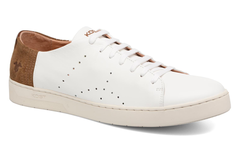 Marques Chaussure homme Kost homme Cosmique 42 Blanc Cognac