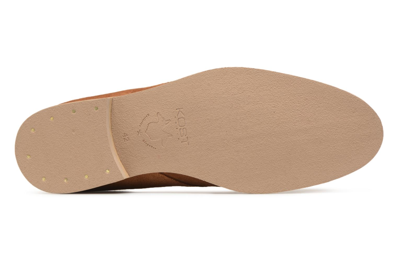 Lace-up shoes Kost Acteur 5A Brown view from above