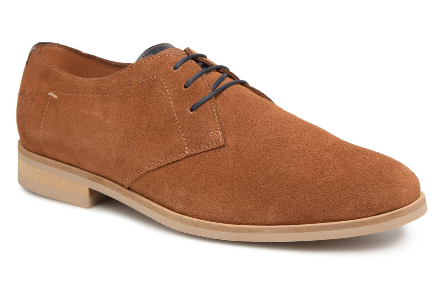 Lace-up shoes Kost Acteur 5A Brown detailed view/ Pair view