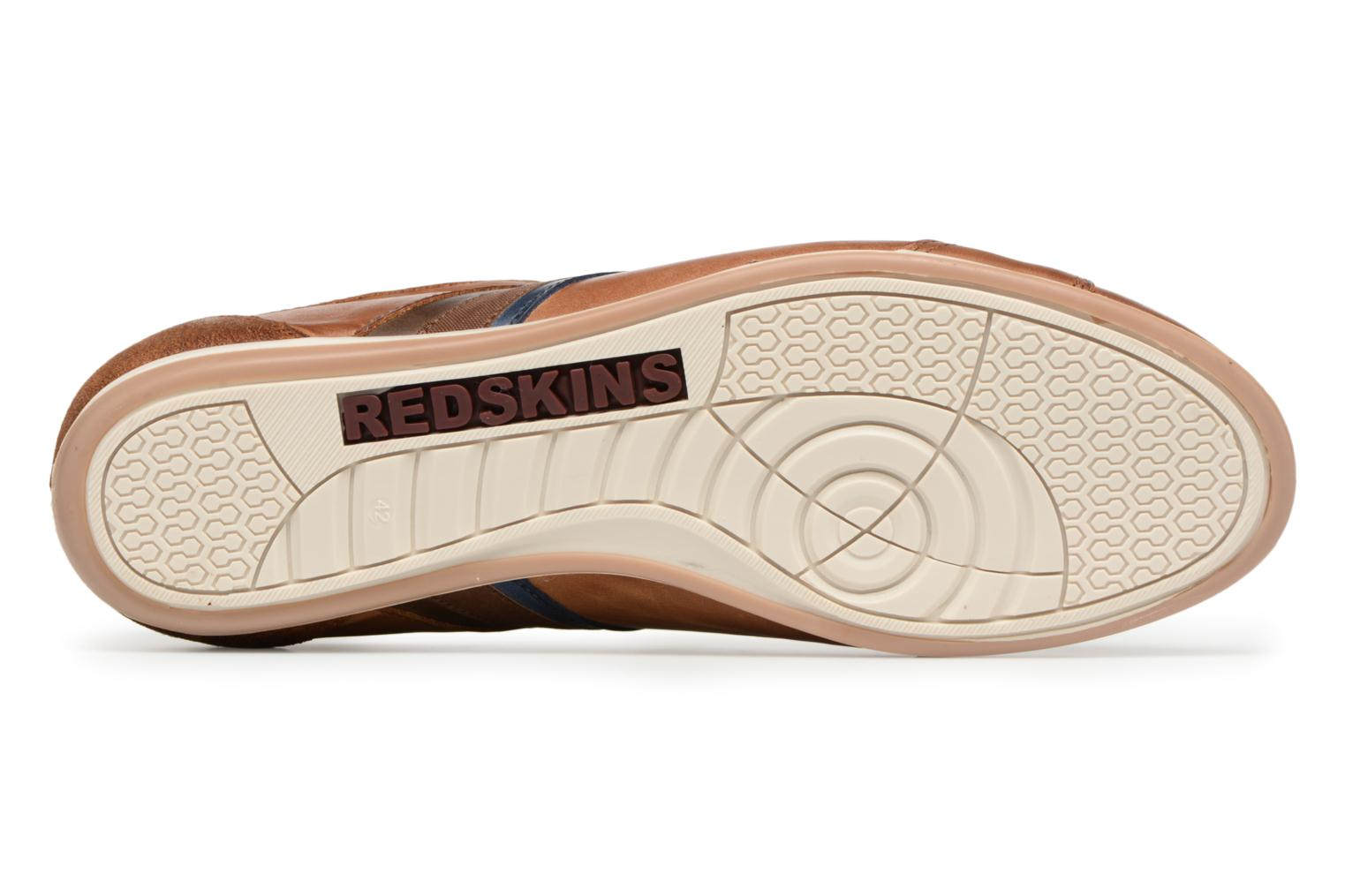 Baskets Redskins Wasek Marron vue haut