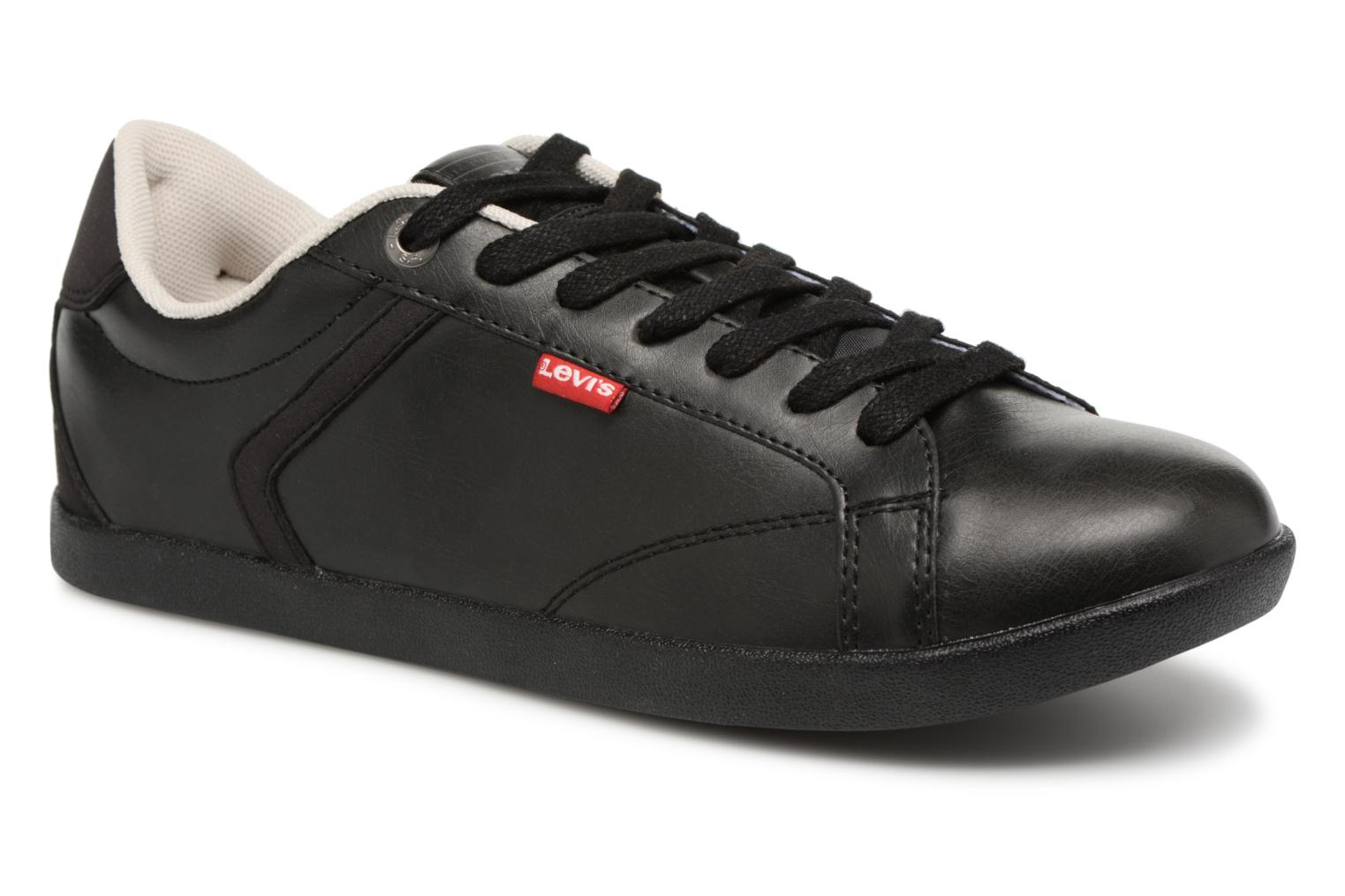 Trainers Levi's Loch Derby Black detailed view/ Pair view