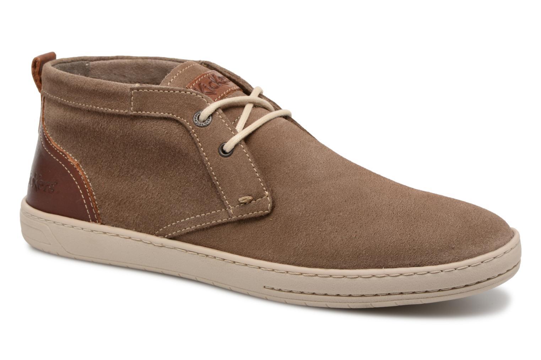 Bottines et boots Kickers Snaper Gris vue détail/paire