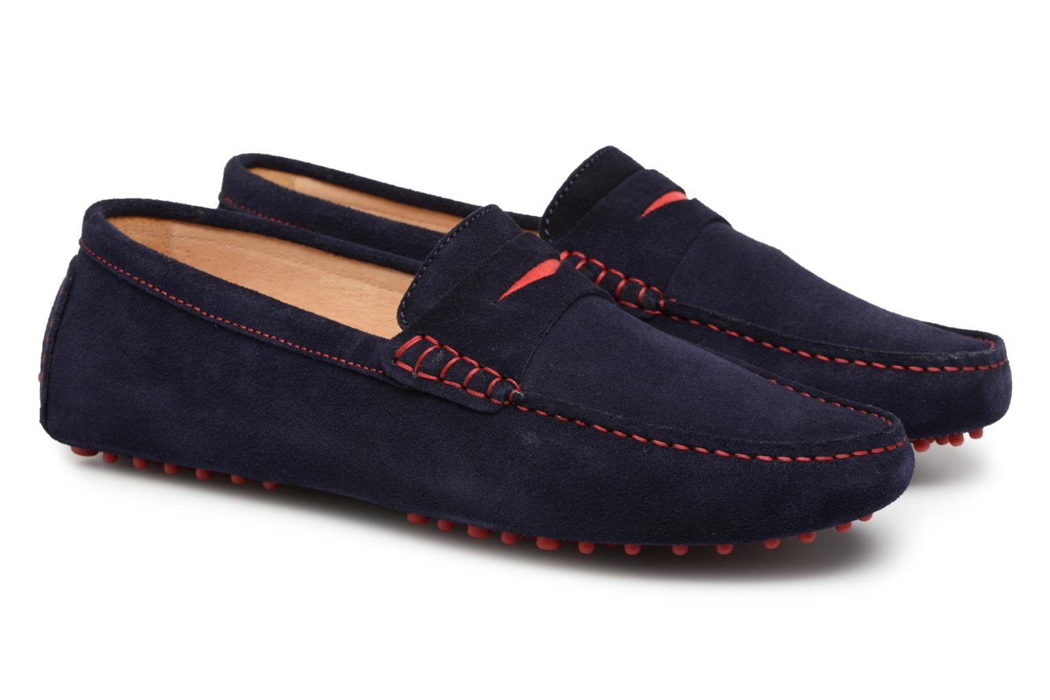 Loafers Mr SARENZA Suttin Blue back view