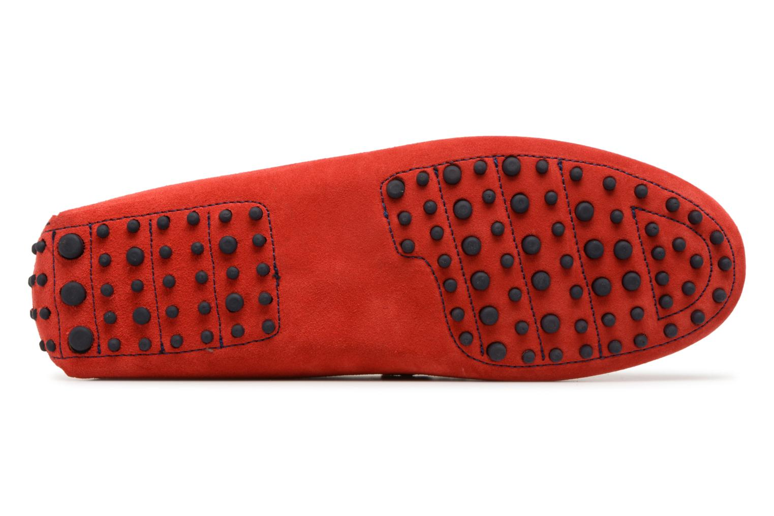 Loafers Mr SARENZA Suttin Red view from above