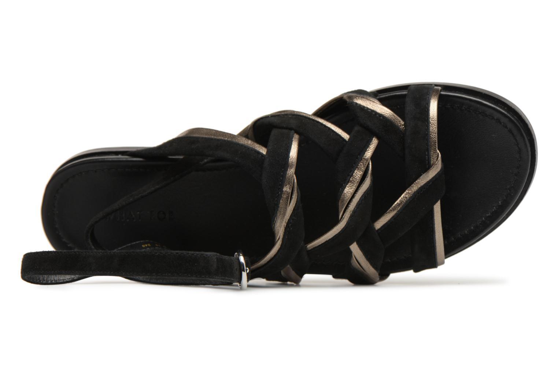 Casual salvaje What For Alizee (Negro) - Sandalias en Más cómodo