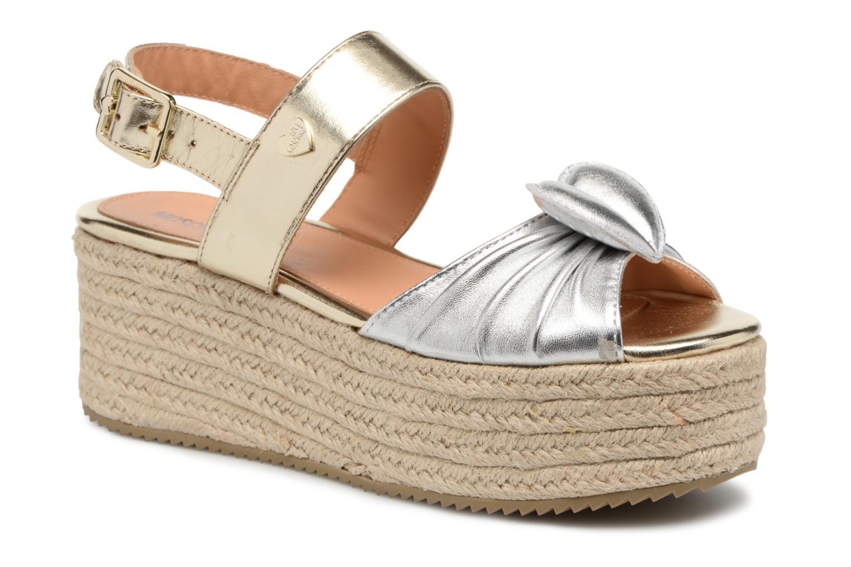 Zapatos promocionales Love Moschino Love Gold (Oro y bronce) - Sandalias   Venta de liquidación de temporada