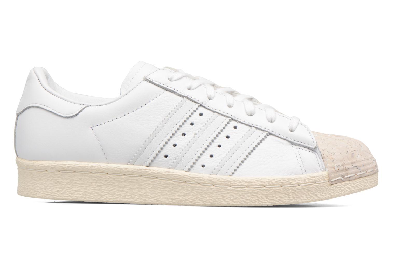 Baskets Adidas Originals SUPERSTAR 80s CORK Blanc vue derrière