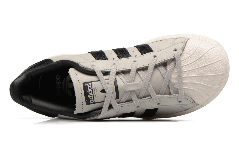 Baskets Adidas Originals SUPERSTAR FASHION C Gris vue gauche