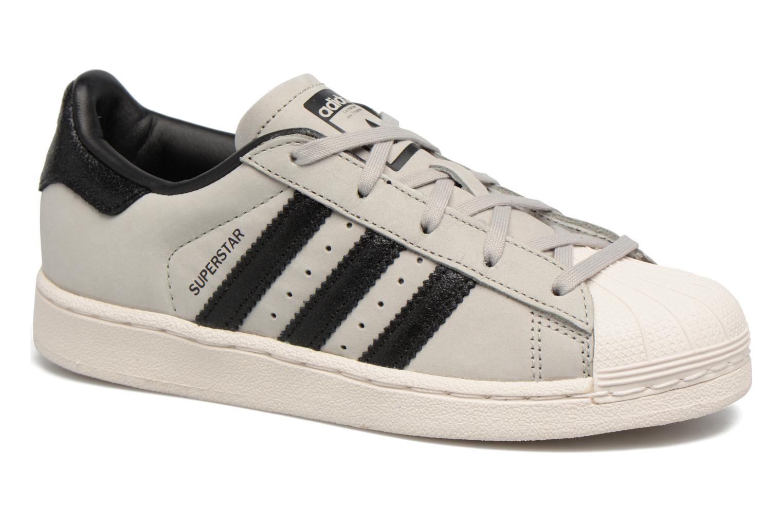Baskets Adidas Originals SUPERSTAR FASHION C Gris vue détail/paire