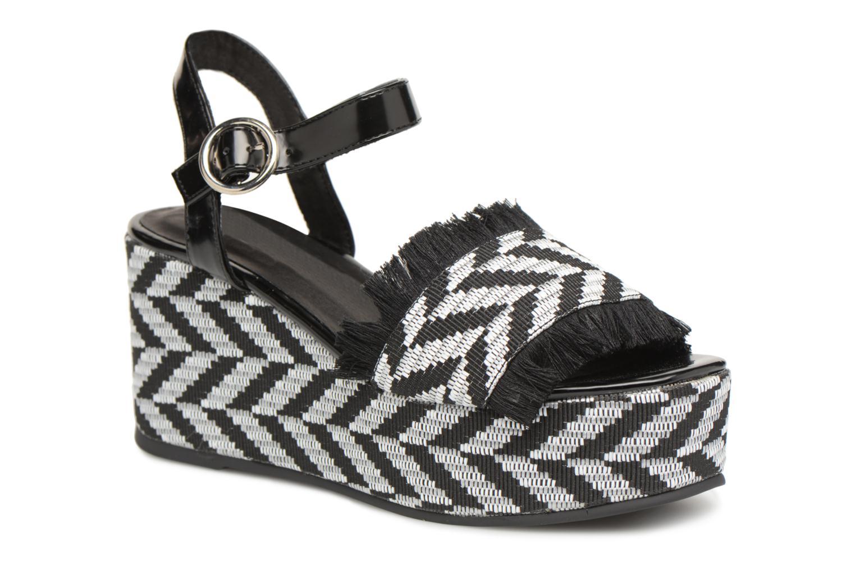 Zapatos promocionales Sixty Seven Damier black (Negro) - Sandalias   Venta de liquidación de temporada