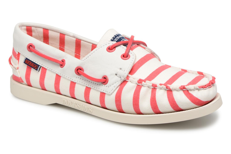 Sebago Docksides Sebago X Armorlux (Rose) - Chaussures à lacets chez Sarenza (321225)