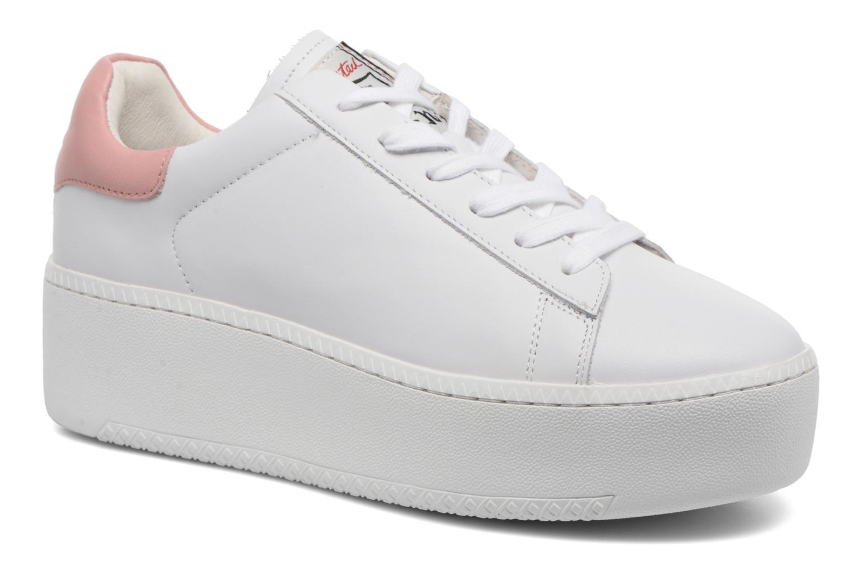 Marques Chaussure femme Ash femme Nikita Combo B Nappa Calf white / red