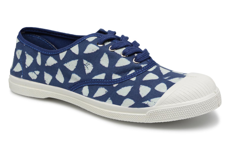 Bensimon Indigoprint (Bleu) - Baskets chez Sarenza (321351)