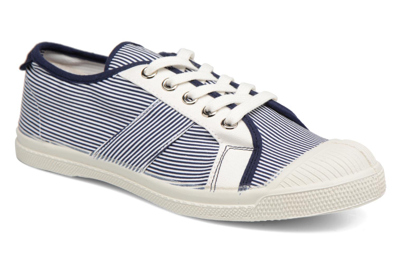 Bensimon - Damen - Fines Rayures - Sneaker - blau p0SoIq