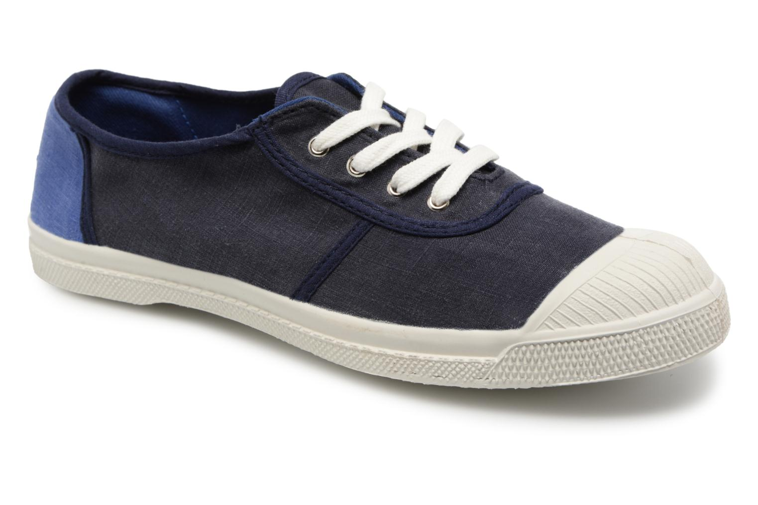 Bensimon Linenoldies (Bleu) - Baskets chez Sarenza (321366)