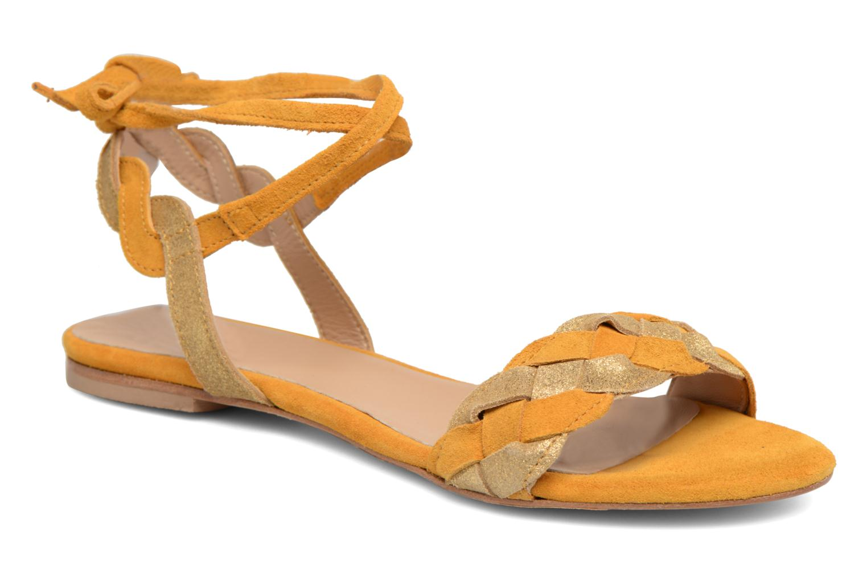 Grandes descuentos últimos zapatos Bensimon Plagettes Tressées (Amarillo) - Sandalias Descuento