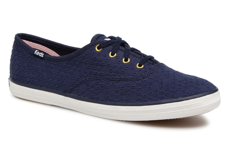 Zapatos promocionales Keds Champion Dot Eyelet (Azul) - Deportivas   Zapatos casuales salvajes