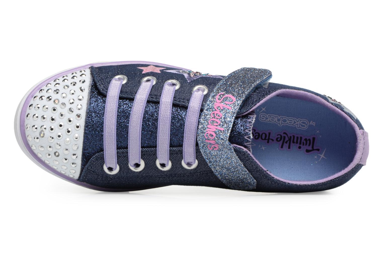 Baskets Skechers Sparkle Glitz Twinklerella Noir vue gauche